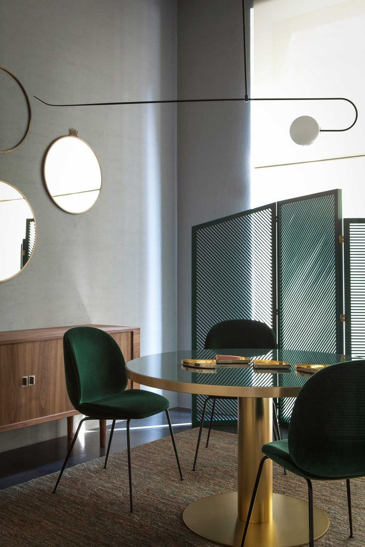 Commercial Dining Room Chairs Mesmerizing Instant Panoramastudiopepe At Spotti Milano  Green And Gold Inspiration Design