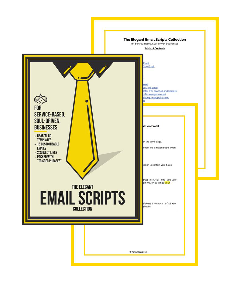 Your Elegant Email Collection Email marketing, Script
