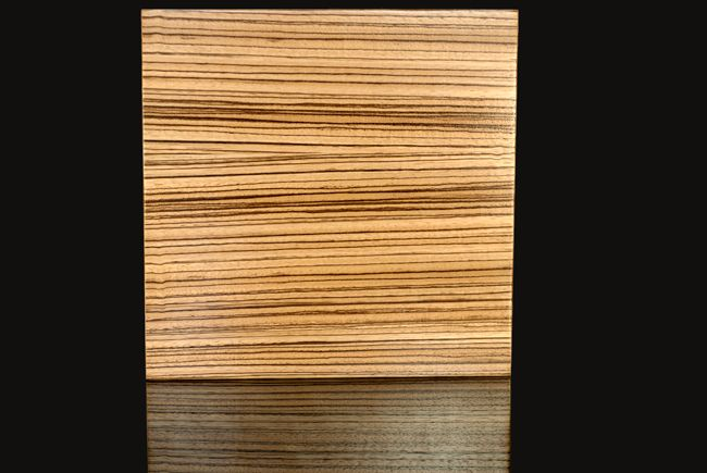 Zebra Wood With A Natural Finish On Ikea Kitchen Cabinets Or