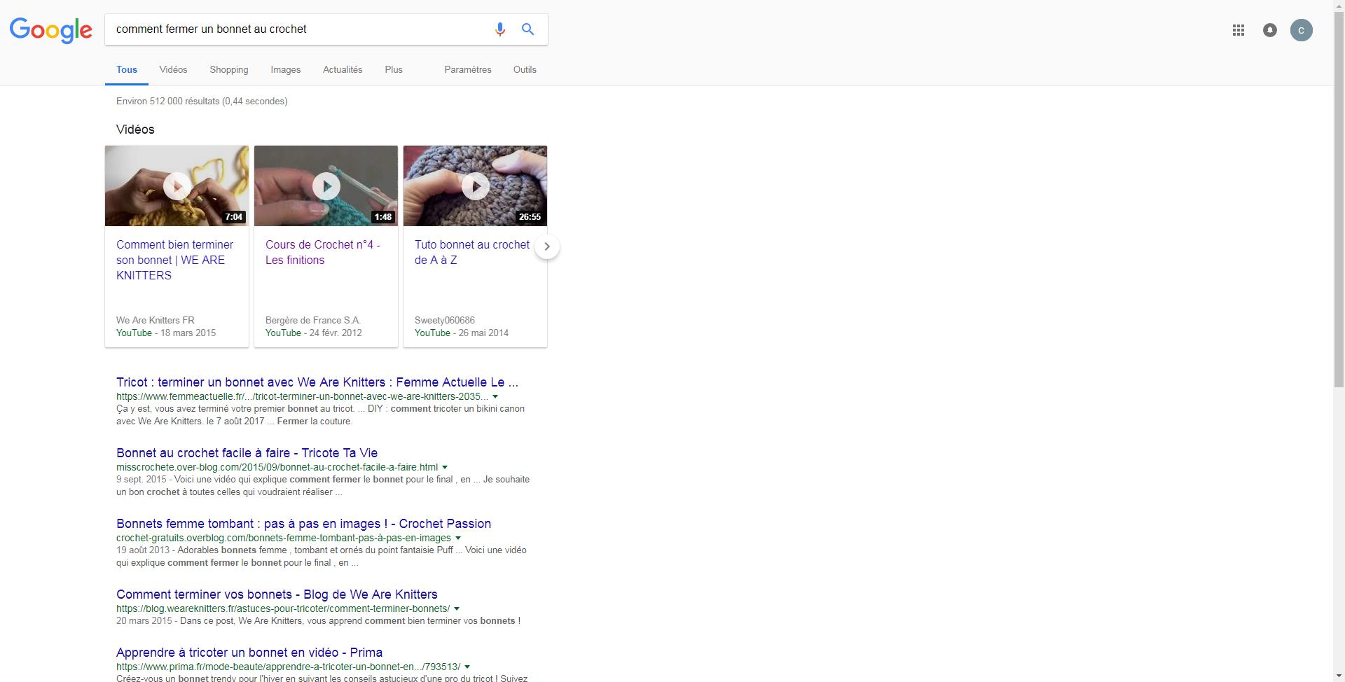 choisir véritable prix attractif boutique officielle comment fermer un bonnet au crochet - Recherche Google ...