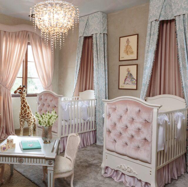Nursery ideas someday bebe dormitorio bebe cunas - Cunas para bebes gemelos ...