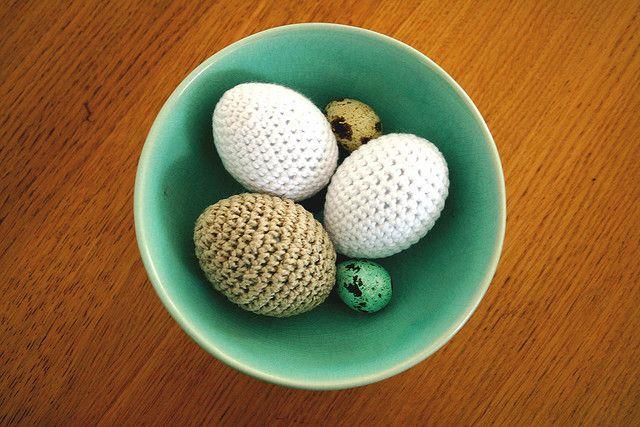crochet eggs #virkkaus #muna #pääsiäinen