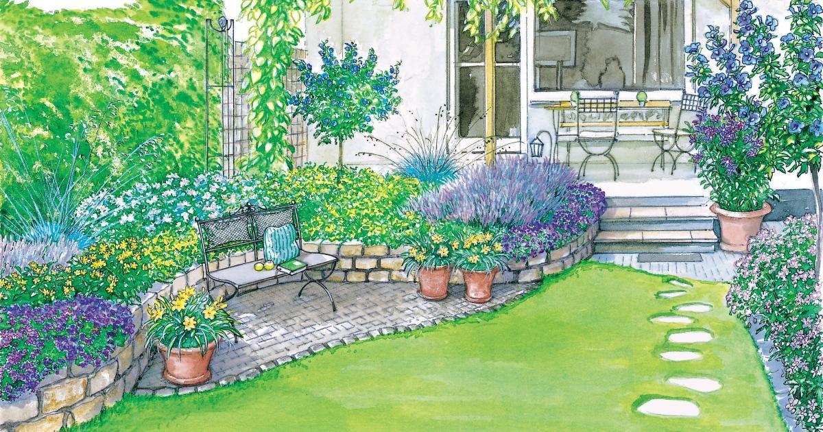 ideen f r einen reihenhausgarten einrichten garten pinterest garten garten ideen und. Black Bedroom Furniture Sets. Home Design Ideas