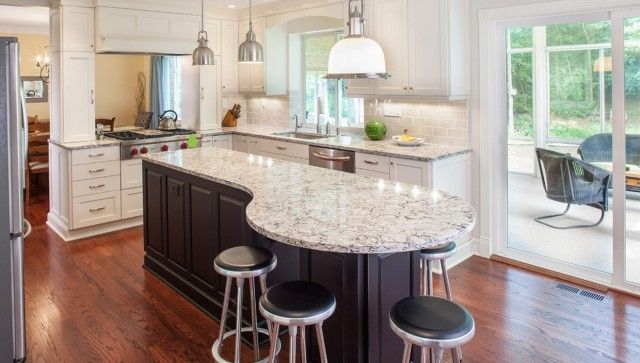 Round End Table Kitchen Design Kitchen Layout Round Kitchen Island Kitchen Island Makeover