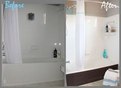 Captivating Redo The Side Of Your Tub So It Looks Custom Bathtub Wood Panel Cover