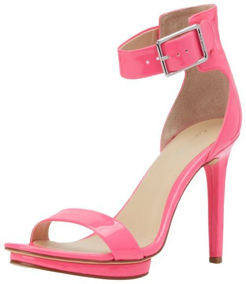 Hot Pink High Heel Sandals