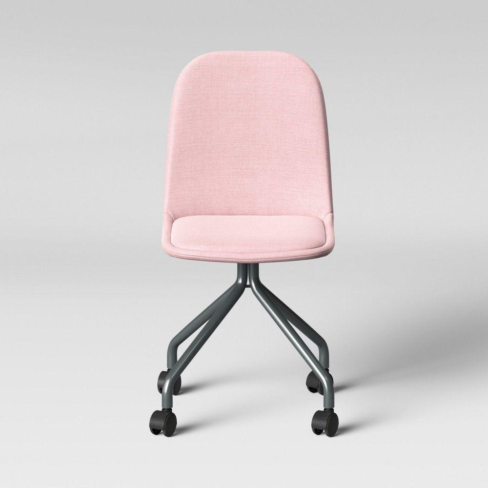Rolling Desk Chair Pink Room Essentials