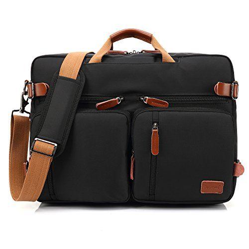 5f16721c6873 CoolBELL Convertible Backpack Messenger Bag Shoulder bag Laptop Case ...