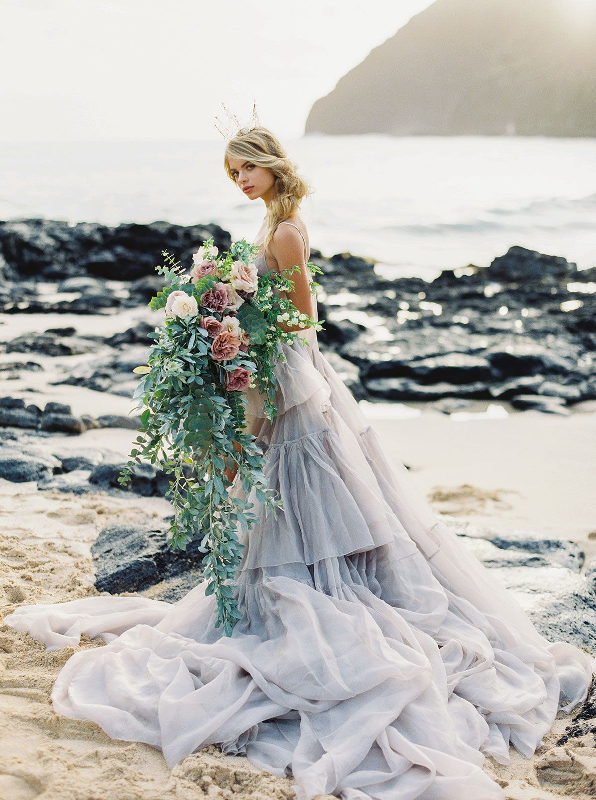 Bridal Inspiration Where The Wildflowers Grow Bridal Wedding
