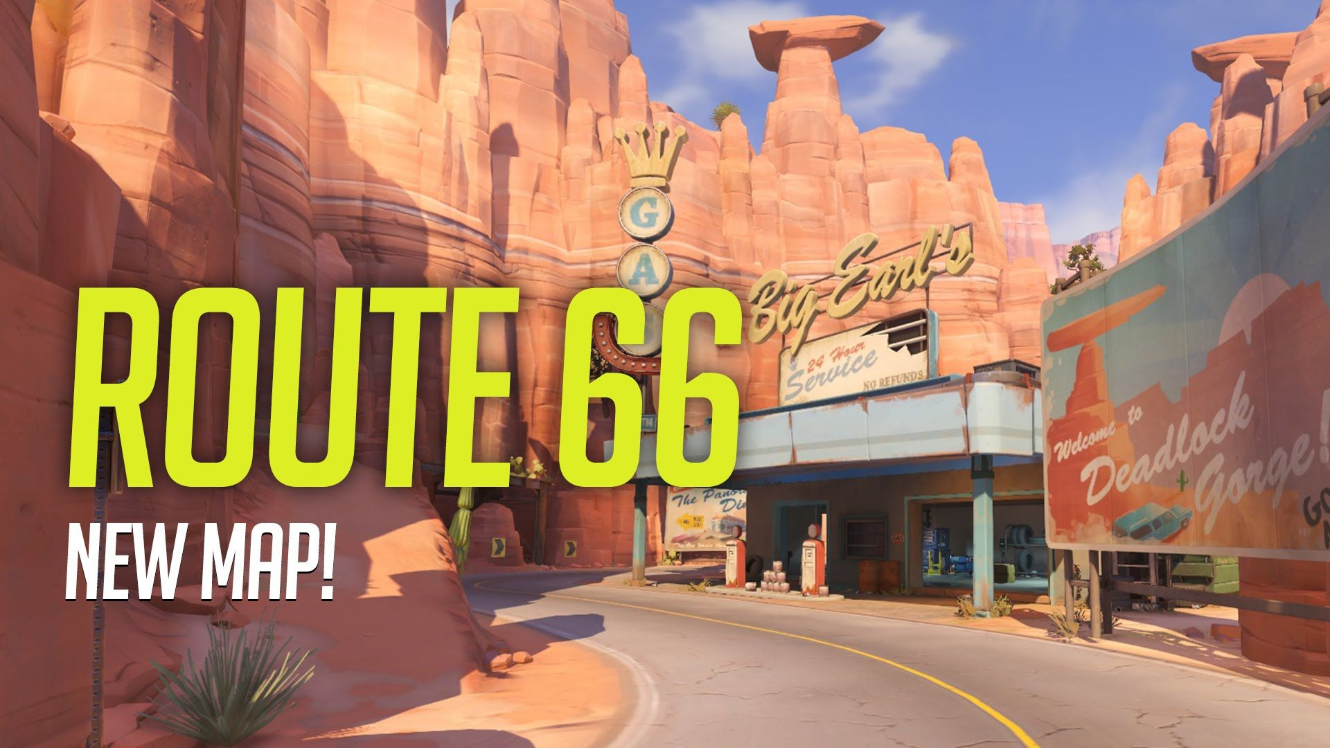 Overwatch Route 66 gameplay Route 66 is