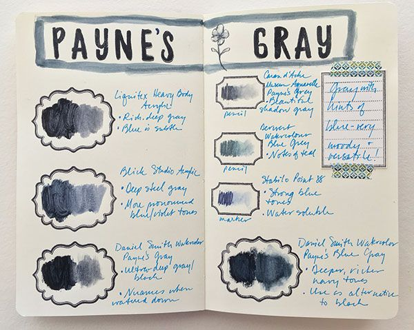 How To Make A Color Journal Art Journal Techniques Watercolor