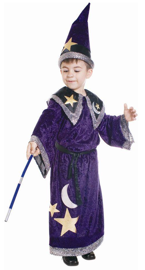 Boys Magic Wizard Costume Wizard Costume For Kids Wizard Costume Boy Costumes