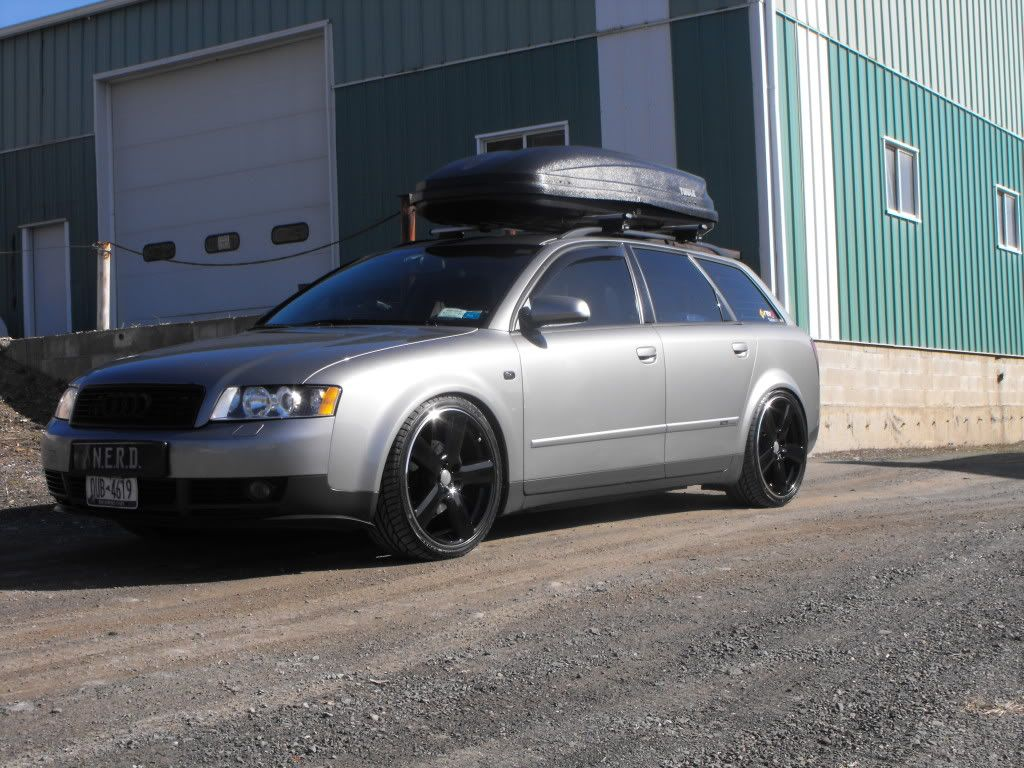 Post Your Atlas Grey A4 Avant Before And After Page 2 Roof Rack Ski Rack Cars Trucks