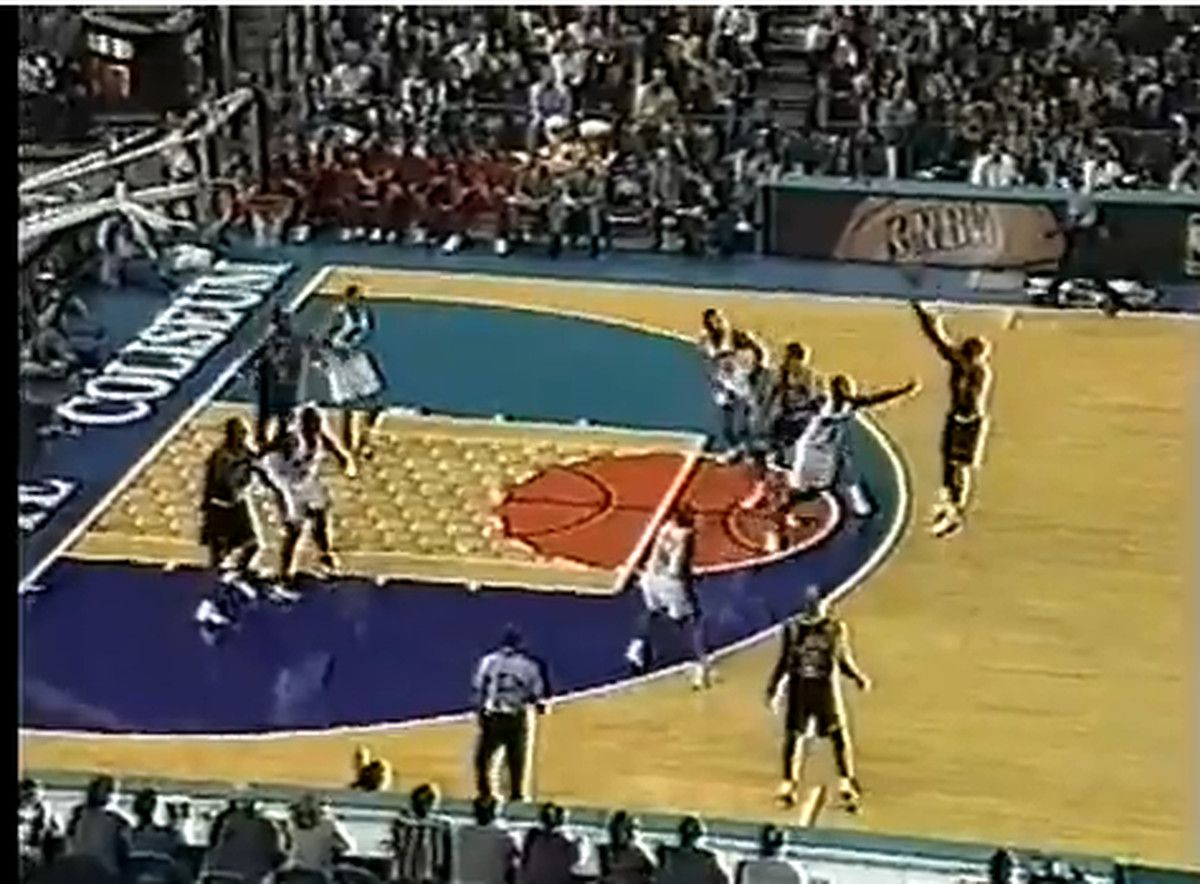 f0272109 The Charlotte Hornets unveiled a classic court for the future time as  aspect of the teams