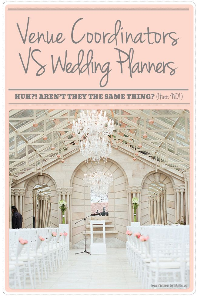 Wedding Fail Thinking a Venue Coordinator and Wedding Planner are