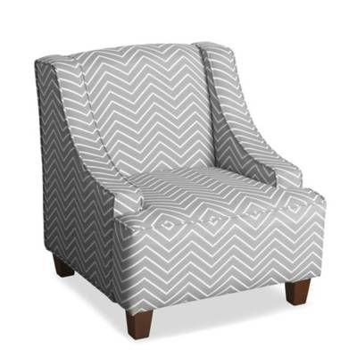 homepop cameron juvenile swoop arm accent chair bed bath beyond rh pinterest cl