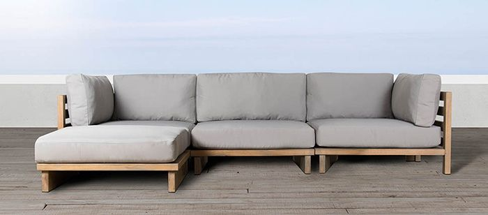 Sutherlands Home Furnishing outdoor modular seating