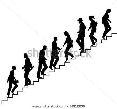 Abstract Concrete Building Stairway Composition Stock Foto 218162560 Shutterstock Skizzen Von Menschen Schattenbilder Mensch Silhouette
