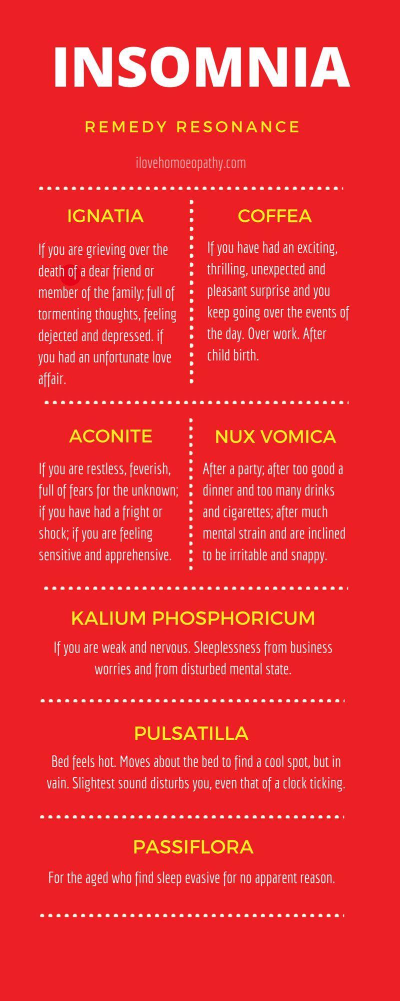 Insomnia Remedies- I Love Homeopathy