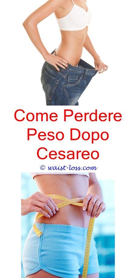 perdere peso post cesareo