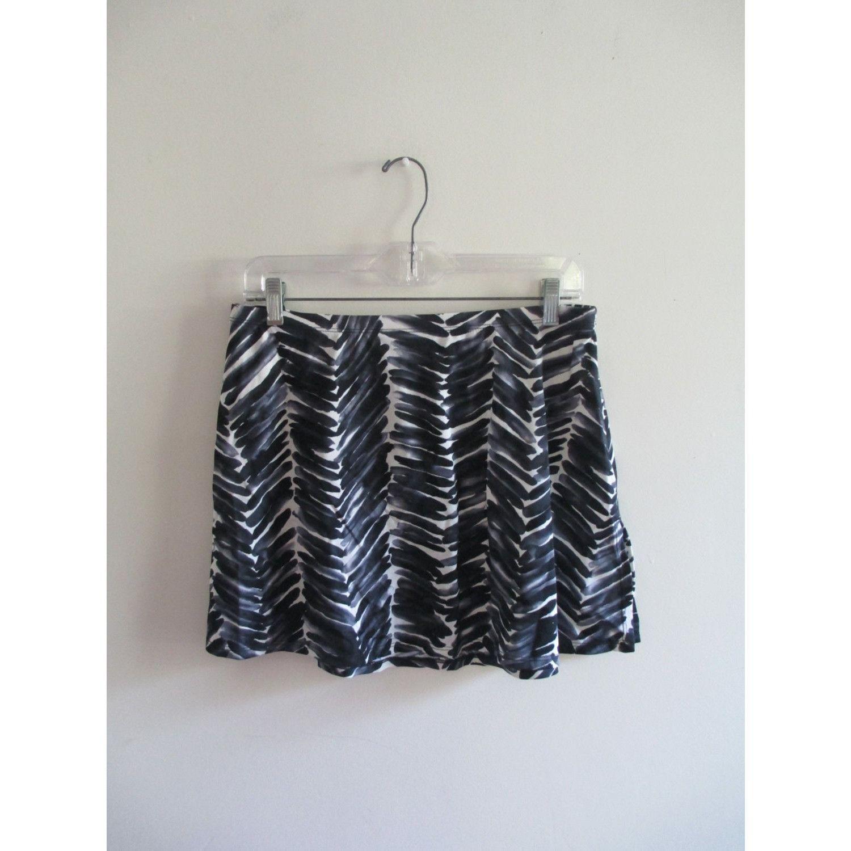 Vintage abstract swim coverup sarong sz large blackugrey print