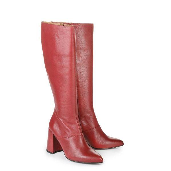 the best attitude bf5da 9627f Buffalo Stiefel in rot mit Blockabsatz | MY STYLE IT | Shoes ...