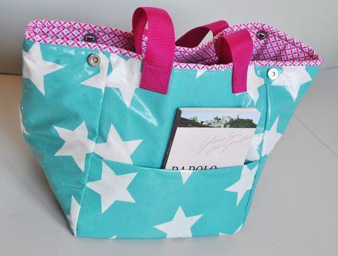 elbmarie: Sommerzeit ist BEACHBOY-Zeit.... beachbag, oilcloth ...
