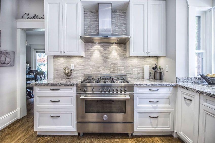142 Temperance St Aurora, Aurora White Kitchen Cabinets