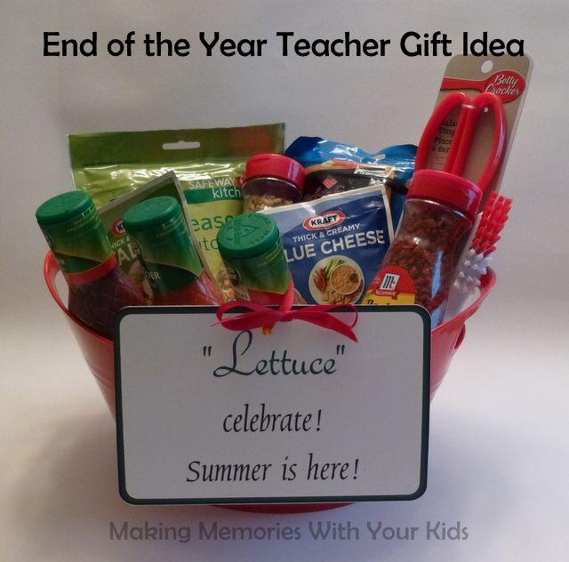 lettuce u201d celebrate summer is here gift idea gift ideas teacher rh pinterest com