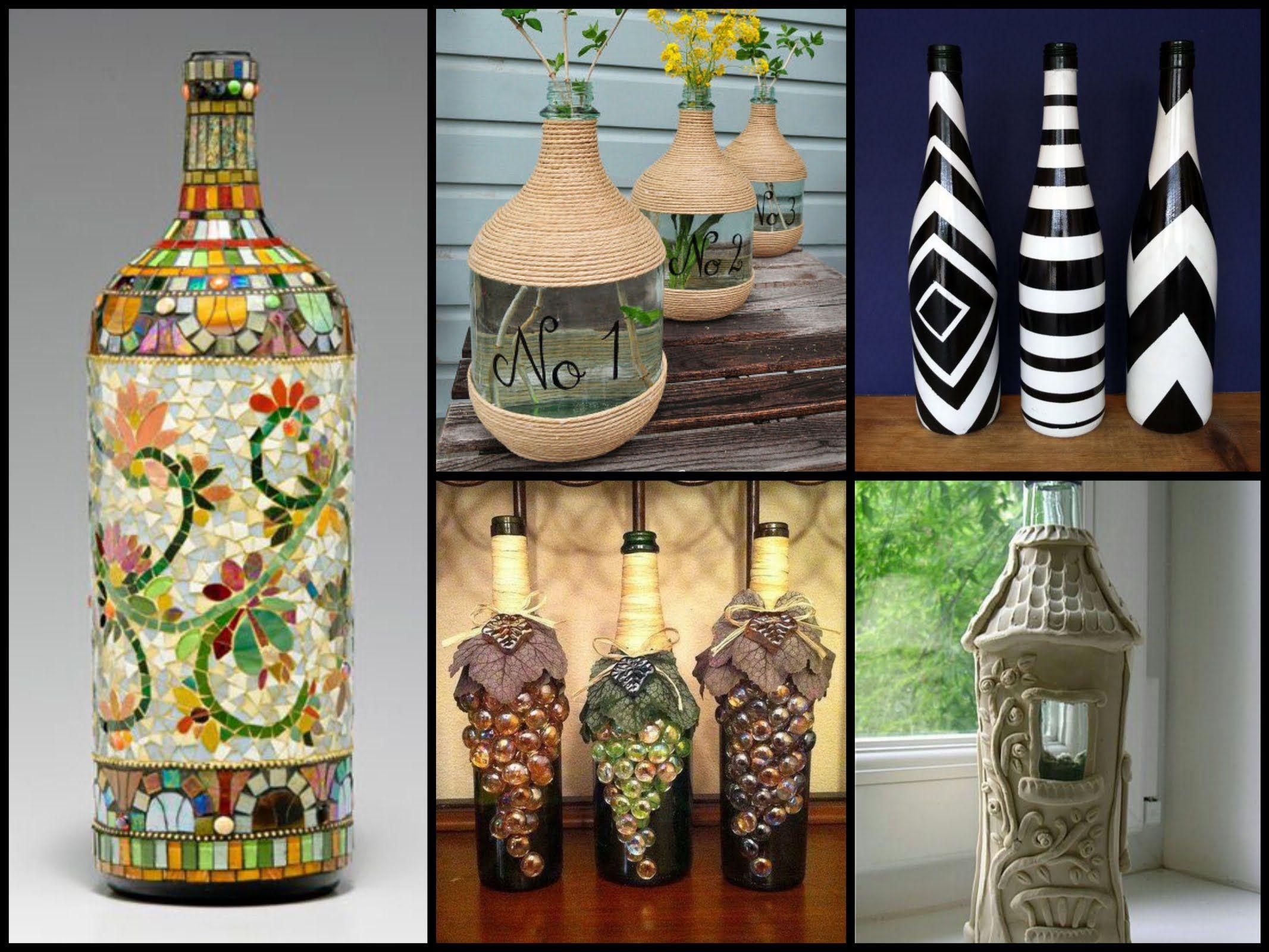 50 Beautiful Bottle Decorating Ideas u2013 DIY