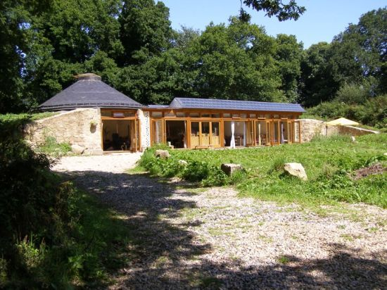 grand designs ground home in brittany this house is completely made rh pinterest de