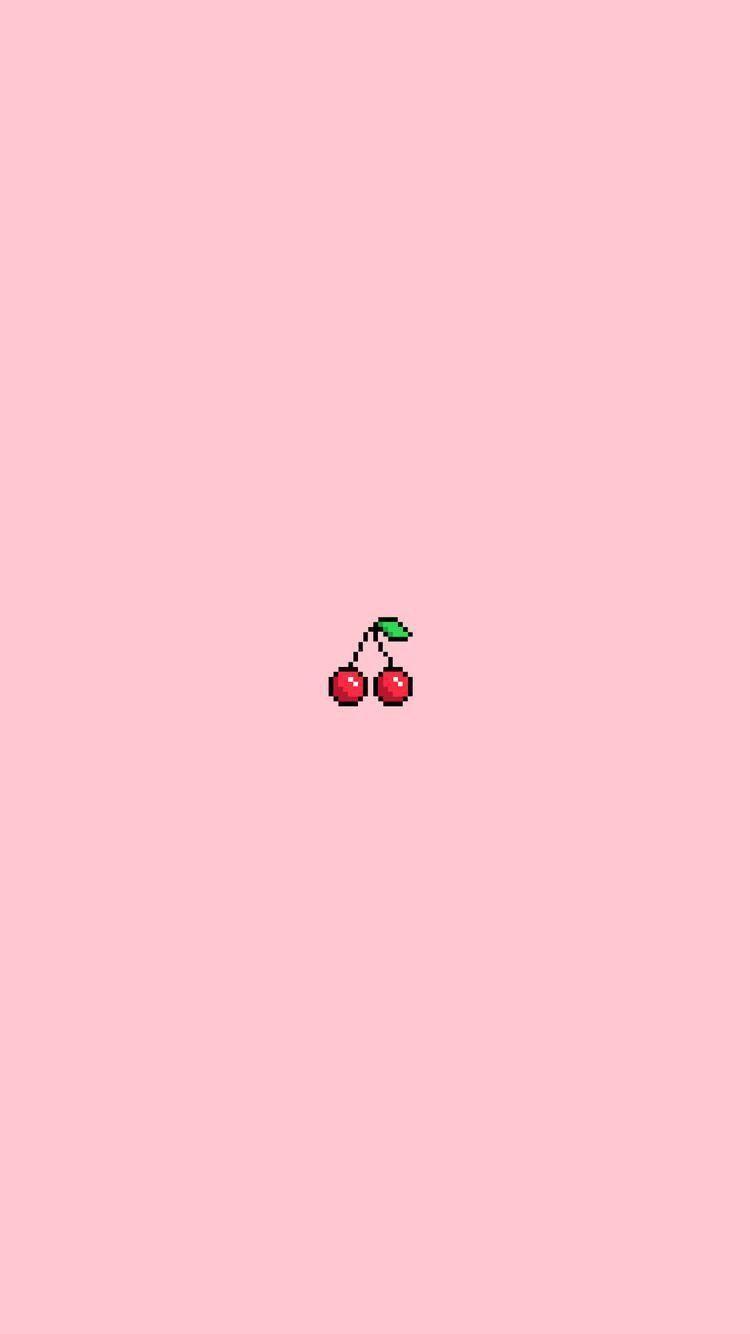 Red Pink Green Logo Line Font In 2020 Cute Wallpapers Cartoon Wallpaper Kawaii Wallpaper
