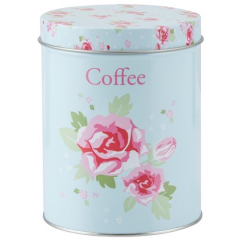 Buy Tesco English Rose Coffee Canister From Our Food