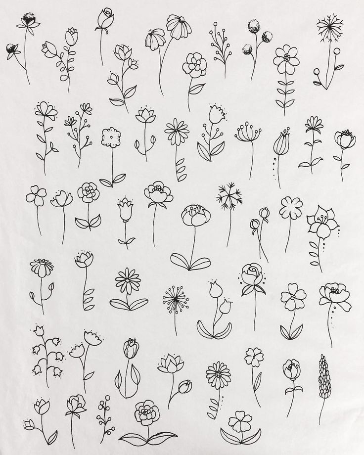 Blumen Kritzeleien #blumen #kritzeleien - #blumen #Kritzeleien