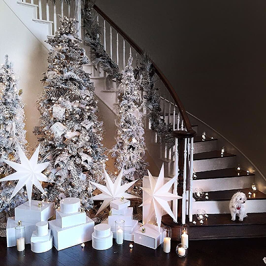 My Home Thriftyniftynest Christmas Tree Christmas Decorating Ideas Decorating Wi Christmas Entryway Rose Gold Christmas Decorations Elegant Christmas Decor