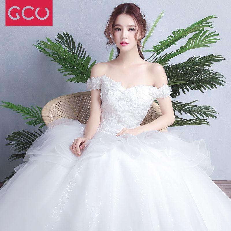 Women 2017 Maxi Long Beading Pearl Tanks V Neck Sweep Tailing Lace-Up Ball Formal Wedding Dresses Vestido De Festa