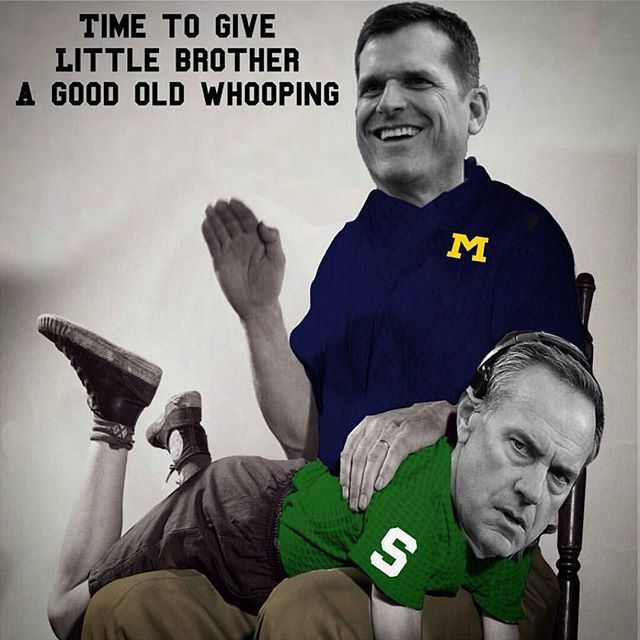 Michigan Fans Are Trolling The Spartans With Some A Memes Michigan Football Michigan Funny Funny Football Memes