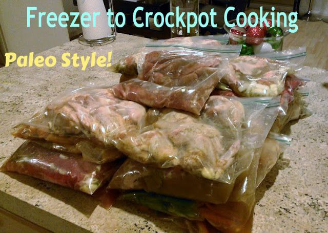 Life With 4 Boys: Freezer to Crockpot Cooking #Paleo and Sugar Detox Friendly!