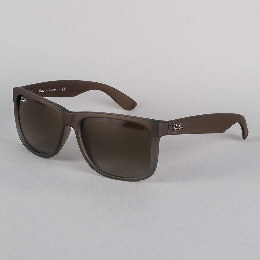 Ray-Ban Justin Sunglasses - Rubber Brown Grey Gradiant  77994ad92a