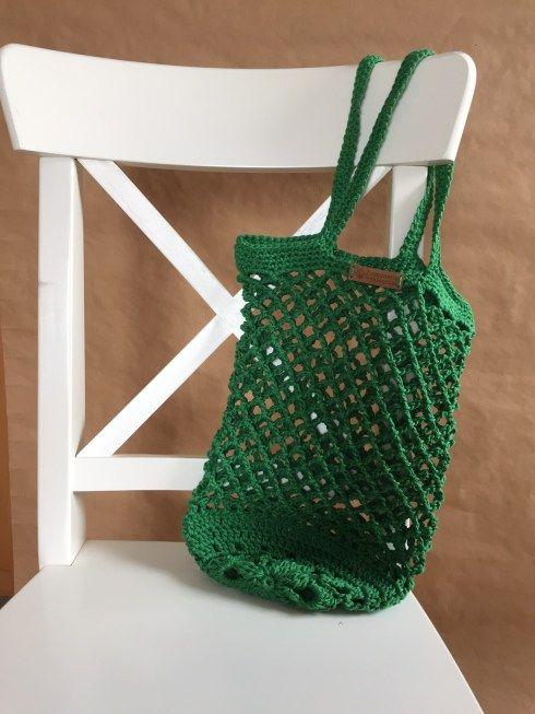 Photo of Es ist so grün … Eine kleine Anleitung zum Häkeln von Netzbeuteln