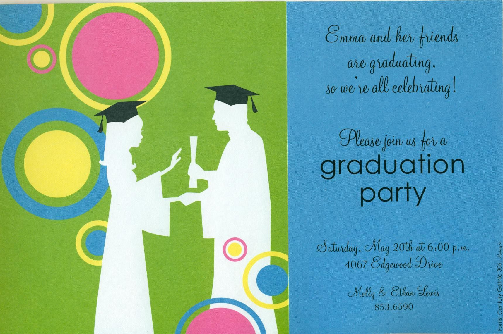 graduation invitation templates free download | graduation ...
