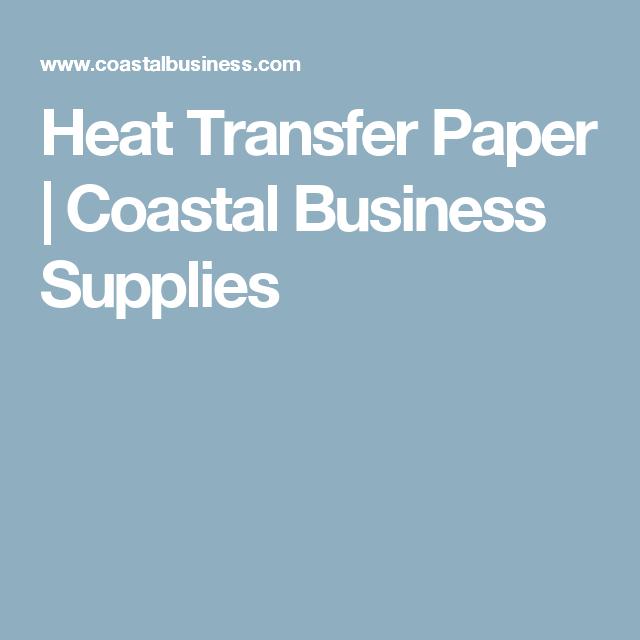 heat transfer paper coastal business supplies cutting machines
