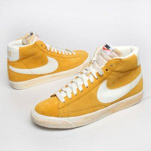 Nike Nike Blazer Vintage yellow grey - Super*Fly Deluxe