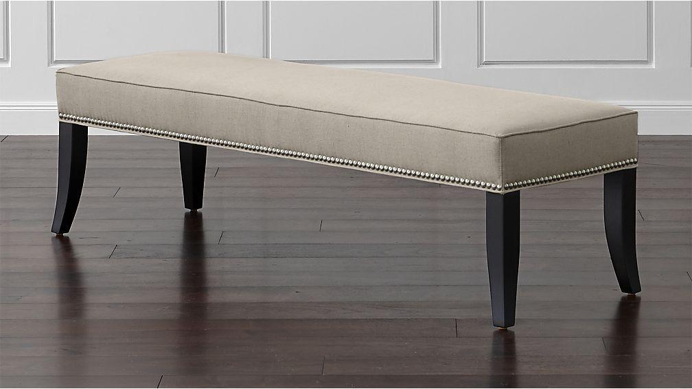 colette king upholstered bench home upholstered bench bench rh za pinterest com