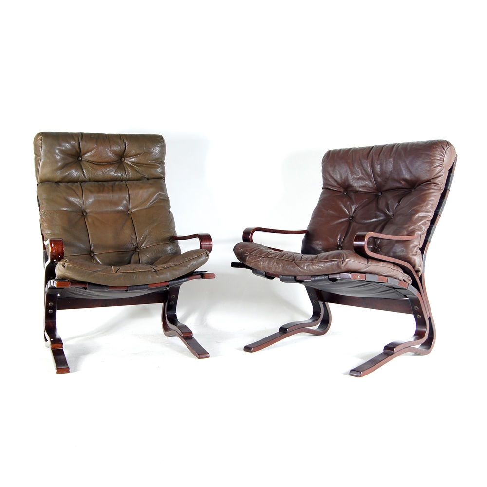 norwegian vintage office chair. 1 Of 2 Retro Vintage Norwegian Oddvin Rykken Leather Armchair Easy Chair 1970s Office K