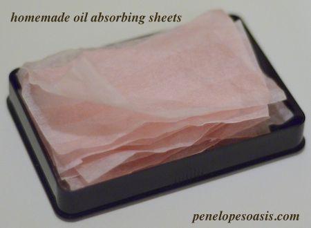 DIY Homemade Oil Absorbing Sheets #Beauty | Homemade