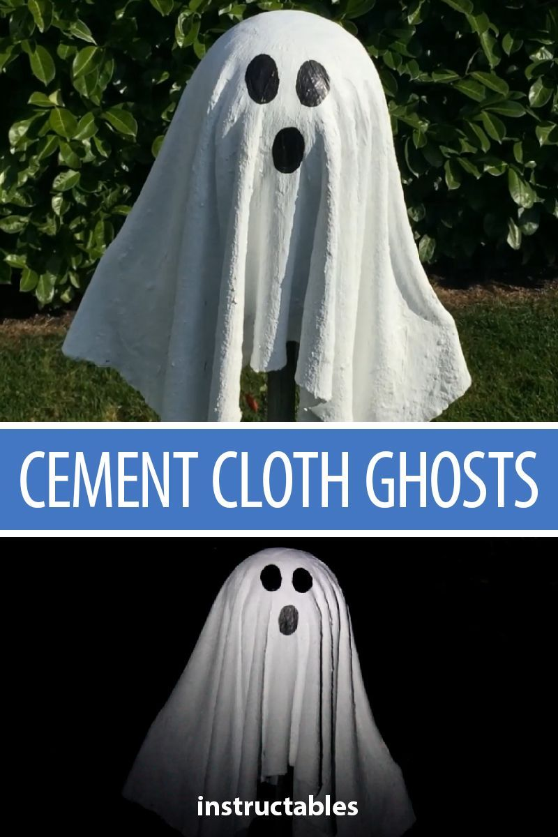 Cement Cloth Ghosts