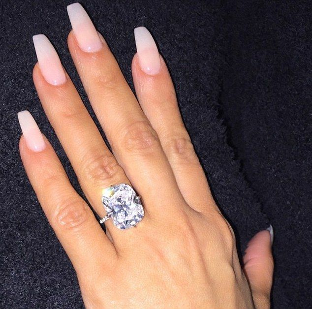What Next For Bling Queen Kim Celebrity Engagement Rings Kim Kardashian Engagement Ring Beautiful Rings