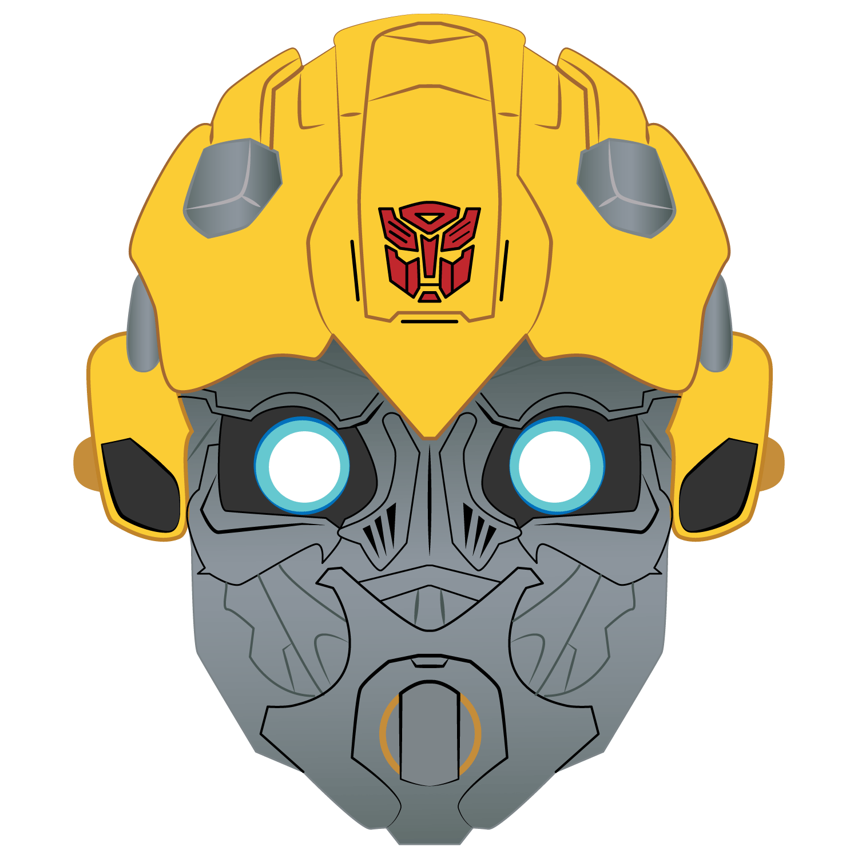 Bumblebee Mask Template | Free Printable Papercraft