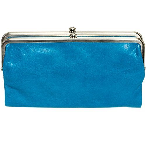 bf380ae3c37fd5 Hobo International Womens Lauren Vintage Wallet Leather Clutch Purse  (Capri) * See this awesome image @